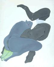 İsimsiz, 1988 Tuval üzerine akrilik 160 x 130 cm