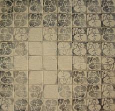 İsimsiz, 2004  Tuval üzerine mürekkep 83 x 83 cm