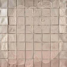 İsimsiz, 1994-95 Branda üzerine model hamuru ve akrilik 80 x 80 cm