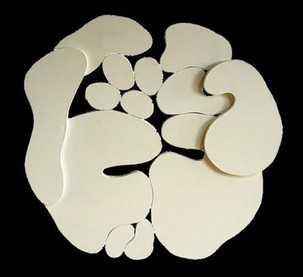 İsimsiz, 2002 Ham tuval 103 x 103 cm
