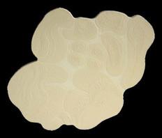 İsimsiz, 2000 Tuval üzerine model hamuru ve akrilik 80 x 80 cm