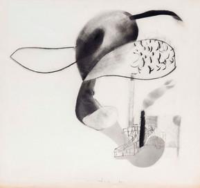 İsimsiz, 1986 Kâğıt üzerine karışık teknik 50 x 53,5 cm