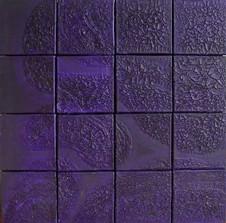 İsimsiz, 2000 Tuval üzerine model hamuru ve akrilik 82 x 82 cm