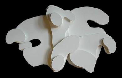 İsimsiz, 2003 Ham tuval 69 x 106 cm