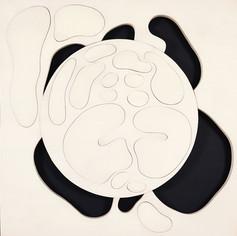 İsimsiz, 2007 Şasiye gerilmiş kumaş 123 x 123 cm