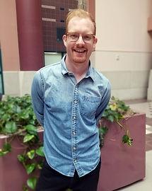 Patrick in April of 2019