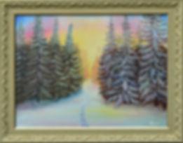 тихо дремлет зимний лес.jpg