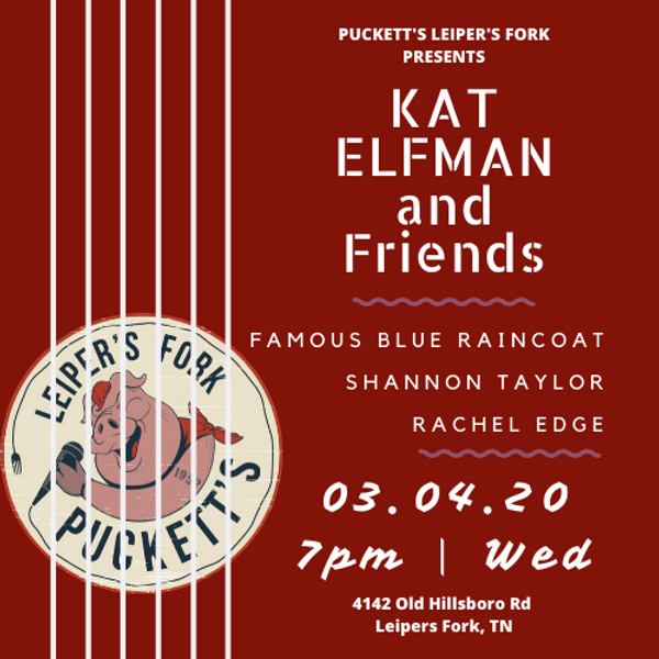 Puckett's Presents Kat Elfman