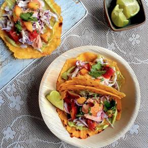 Takeaway Lent 16-5: salade + zalmtaco's