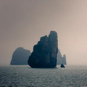 Croisière en Baie d'Halong. Vietnam
