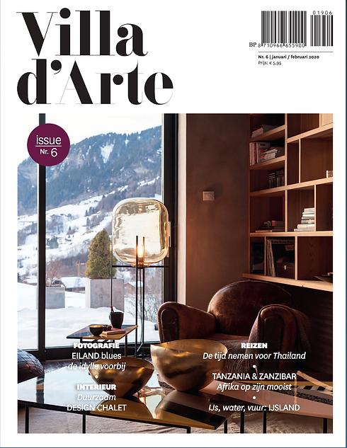 Villa d'Arte. Magazine de décoration italien
