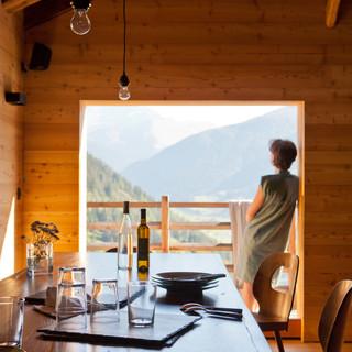 Chalet dans les Alpes