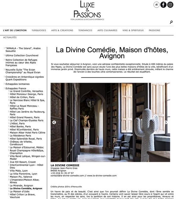La Divine Comédie. Avignon