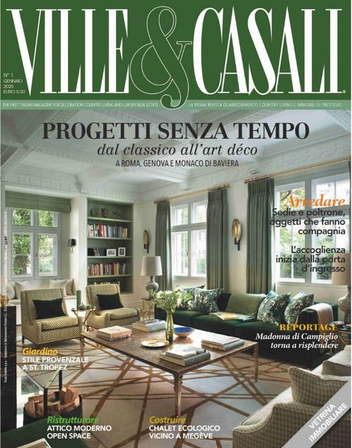 VILLE & CASALI. Magazine de décoration italien