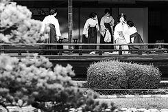 Séance préparatif future mariée traditionnelle au Japon