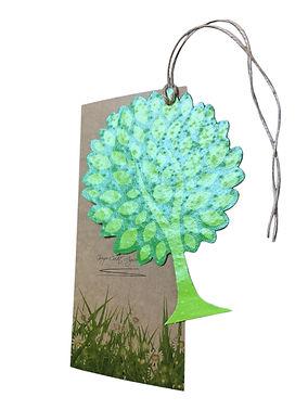Seed Papers custom shaped tree