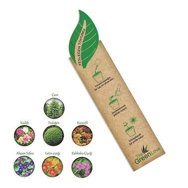 Seed Packets Eco Friendly Custom Logo