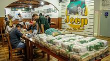 Campeonato Catarinense de Rally Scherer 4x4 Carbon Free realiza ação social em etapa em São Bento