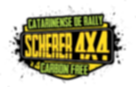 Logo Catarinense de Rally Scherer 4x4.fw