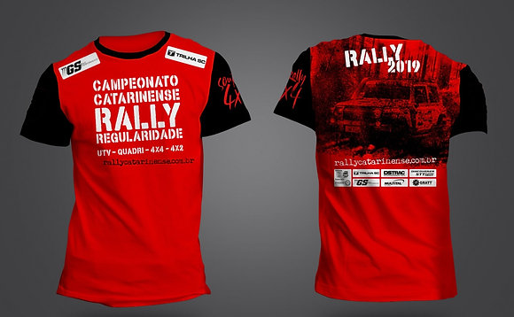 Camiseta Catarinense de Rally 2019
