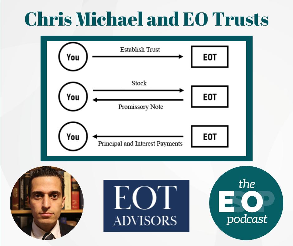 Chris Michael and EO Trusts; Diagram Source: EOT Advisors' EOT FAQ