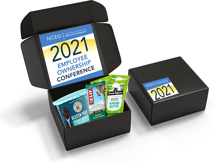 The NCEO 2021 Conference Welcome Box will include coffee, tea, snack, and margarita kit!