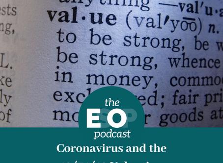 Mini-cast 73: Coronavirus and the 12/31/19 Valuation