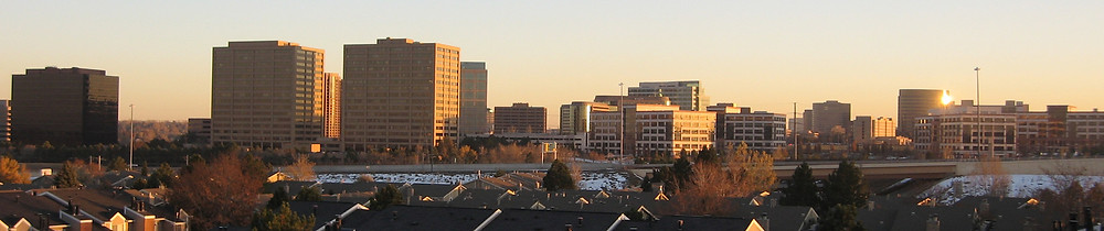 The Denver Technolodgy Center Skyline by Stormerne at English Wikipedia, CC BY-SA 3.