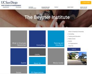 The Beyster Institute, Rady School of Management, UC San Diego