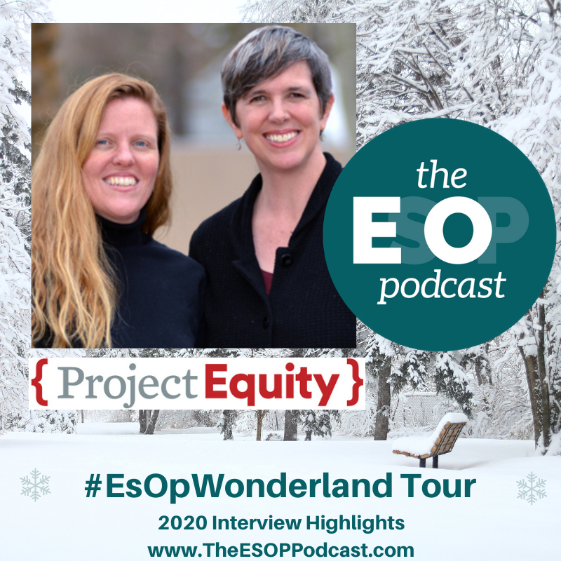 Project Equity's Alison Lingane and Hilary Abell