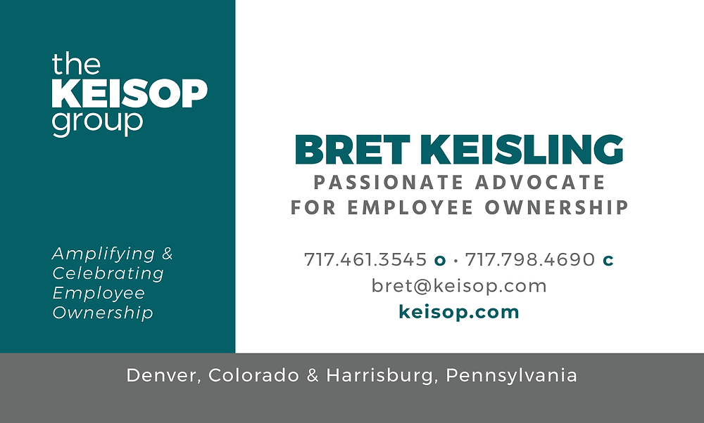 the KEISOP Group Business Card