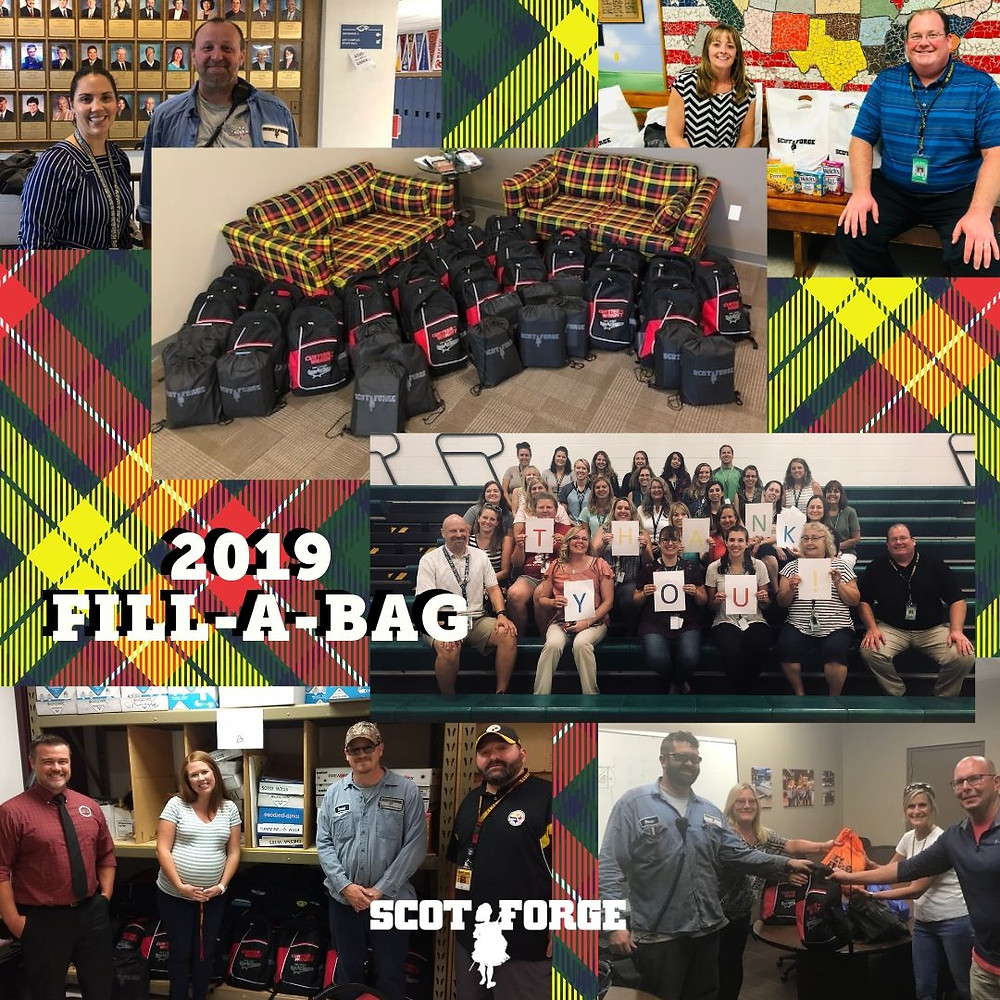 Scot Forge Fill-a-Bag; Source: @ScotForge on Twitter
