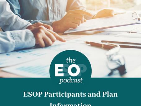 Mini-cast 69: ESOP Participants and Plan Information