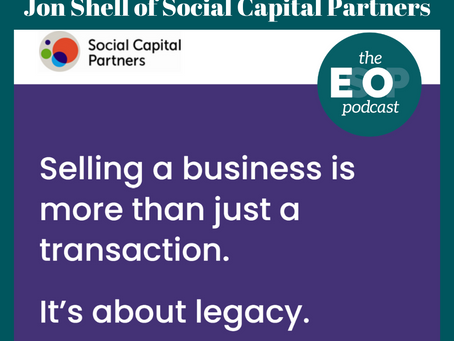Mini-cast 129: Jon Shell of Social Capital Partners