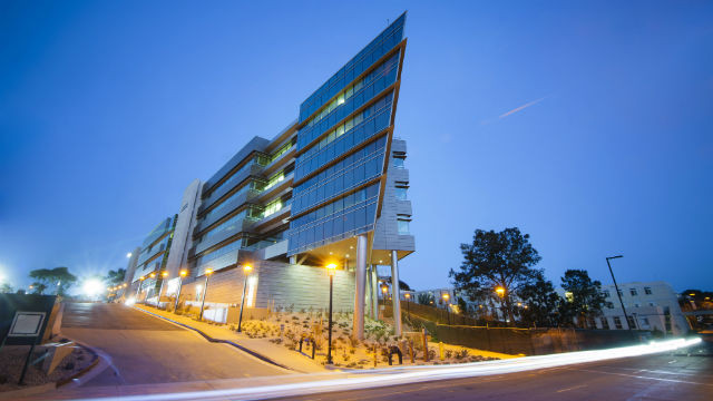 The Rady School of Management building at UC San Diego