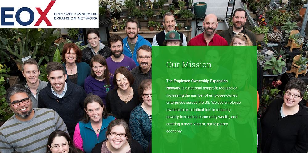 The Employee Ownership Expansion Network Mission Statement [Source: eoxnetwork.org]