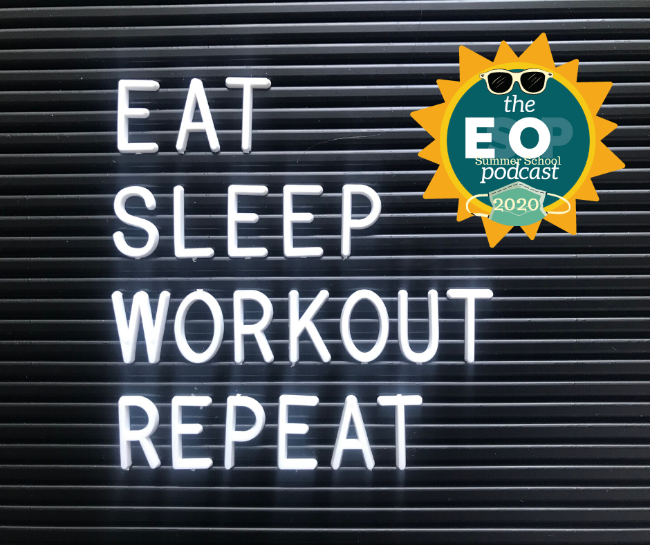 Image:  Eat, Sleep, Workout, Repeat