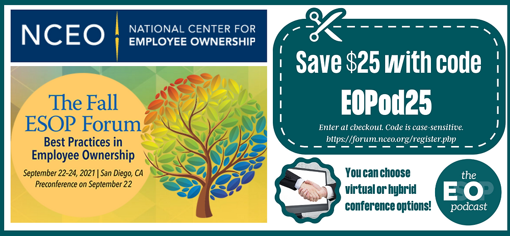 NCEO Fall Forum Discount Code EOPod25