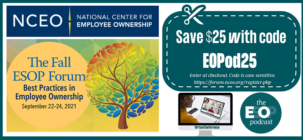 Coupon code for ESOP Podcast Listeners: EOPod25 (case-sensitive)
