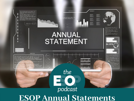 Mini-cast 91: ESOP Annual Statements