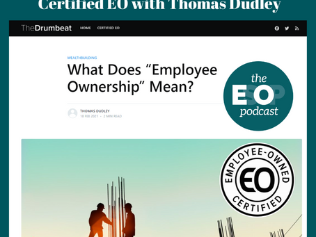 Mini-cast 124: Certified EO with Thomas Dudley