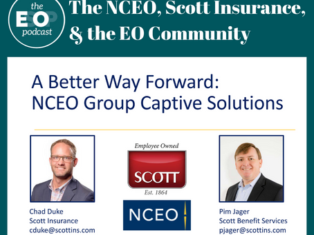 158: The NCEO, Scott Insurance, & the EO Community