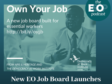 Mini-cast 99: New EO Job Board Launches