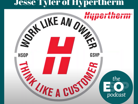 Mini-cast 133: Jesse Tyler of Hypertherm