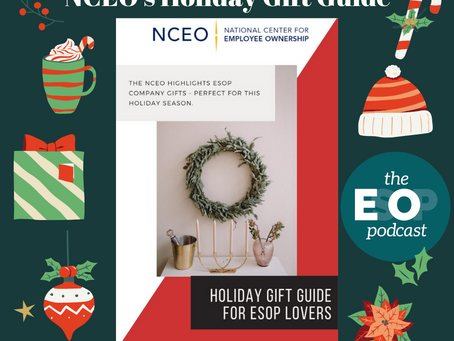 130: NCEO's Holiday Gift Guide