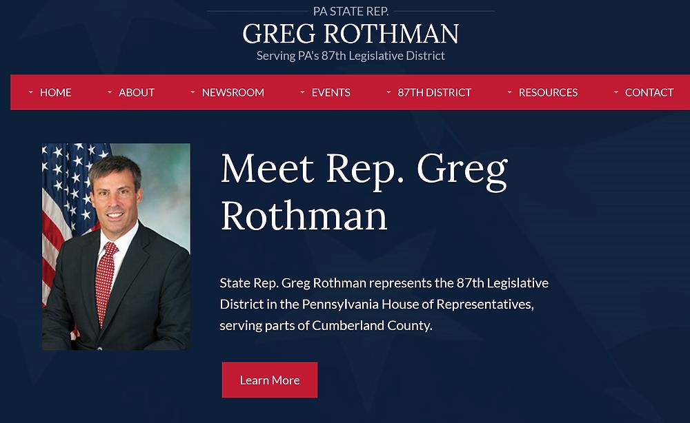 PA State Rep. Greg Rothman