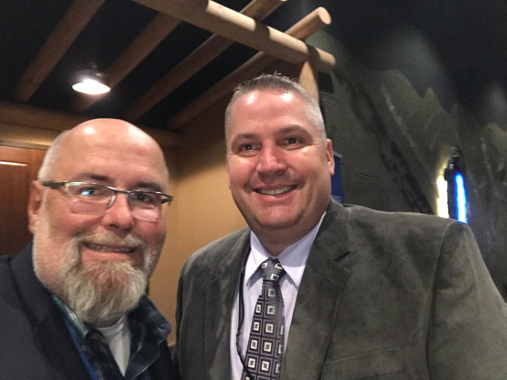 """I'm always glad to catch up with @Dan_ESOP  who does more in a week to grow the EO and ESOP sandbox than some do in a year. We're  @EsopPade   @ESOPAssociation Multi-State. Bonus:  Dan and I are co-presenting at ESOP NE in October."""