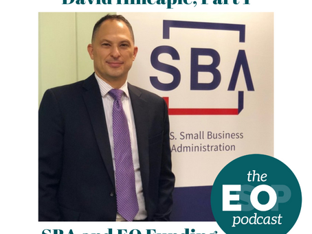 125: David Hincapie Pt. 1 - SBA and EO Funding
