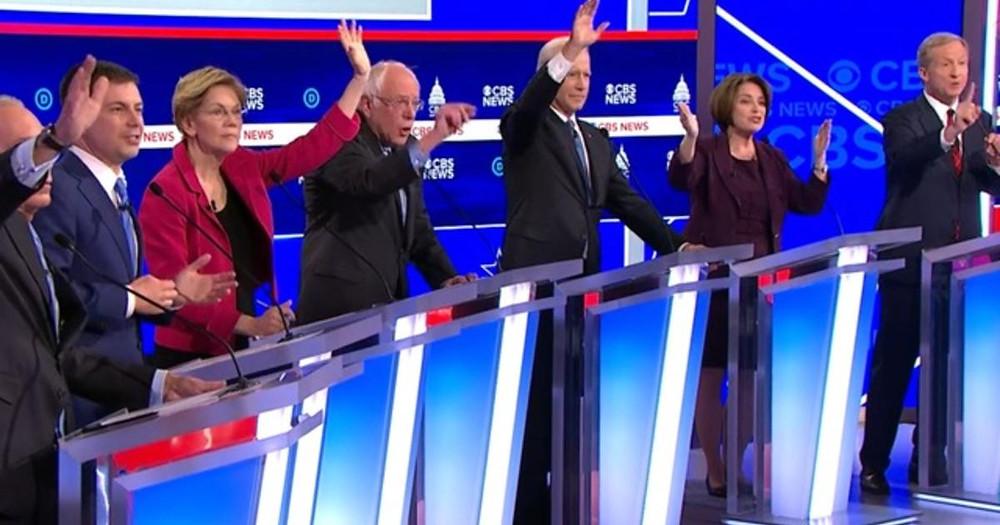 The 10th Democratic Debate in South Carolina, Source: CBS News