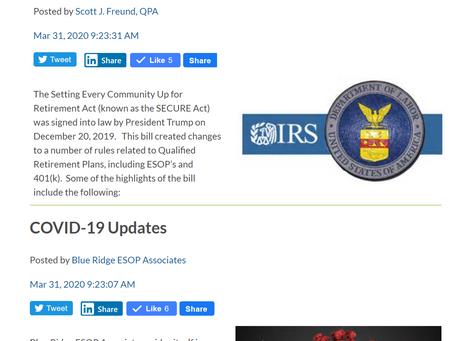 107: Tom Roback - Plan Administration & COVID-19
